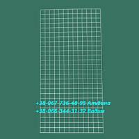 Сетка  Торговая  Усиленная 150 х 75 см  настенная диаметр - 3,5 мм  клетка 5х5  Украина