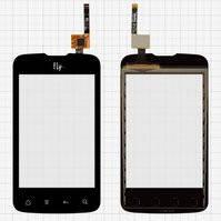 Сенсорный экран для мобильного телефона Fly IQ238, черный