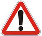 Дорожные знаки Предупреждающие знаки Иная опасность 1.39