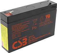 Аккумулятор 6В 7,2Ач CSB