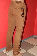 Джинсы мужские рыжие  STRAVT(стравт) зауженные,молодёжные 1019