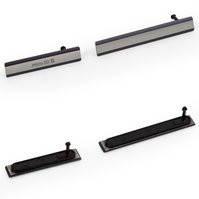 Боковая заглушка для мобильных телефонов Sony D6502 Xperia Z2, D6503 Xperia Z2, полный комплект, черная