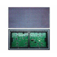 LED-дисплей для рекламы P10-1G (320 × 160 мм, 32 × 16 точек, IP65, 2000 нт)