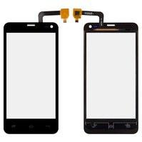 Сенсорный экран для мобильного телефона Fly IQ4416, Сopy, черный