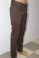 Молодёжные джинсы коричневые STRAVT (стравт) оптом и в розницу в Украине
