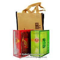 Чай китайский ассорти Подарочный зеленый/черный порционный 2х10х5г