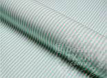 """Клапоть тканини №480с з дрібною смужкою м'ятного кольору """"Бамбук"""", розмір 27*75 см, фото 2"""