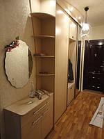 Встроенный шкаф-купе в прихожую, мебель на заказ
