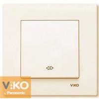 Выключатель реверсивный (промежуточный) крем Viko (Вико) Karre (90960131)