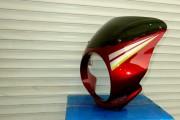 Обтекатель JAWA D-180 мм EVO красный - Motozapchast интернет-магазин мотозапчастей в Харькове