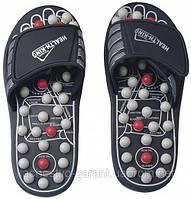 Рефлекторные массажные тапочки - массажер для стоп, фото 1