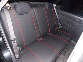 Фотография модельных чехлов на Chevrolet Aveo с вышивкой 6