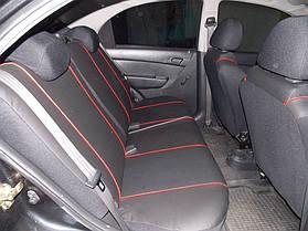 Фотография модельных чехлов на Chevrolet Aveo с вышивкой 7