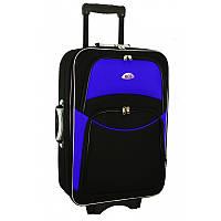 Чемодан сумка 773 (небольшой) черно-синий