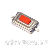 Тактильная кнопка, микропереключатель SMT 3 x 6 x 2.5 мм. 2 Pins
