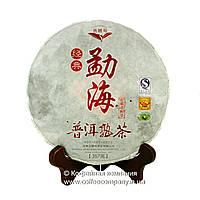 Чай Пуэр Шу Улунский Фирменный прессованный 357г