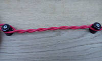 Провод для наружной электропроводки ярко-розовый
