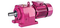 Цилиндрический соосный мотор-редуктор М