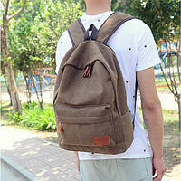 Рюкзак для города однотонный