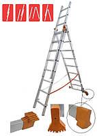 Лестница универсальная Budfix- 01408 3х8 алюминий