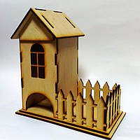 Чайный домик с конфетницей
