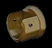 Кронштейн торцевой для трубы Ø25мм