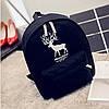 Рюкзак молодежный с принтом оленя, фото 9