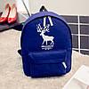 Рюкзак молодежный с принтом оленя, фото 2