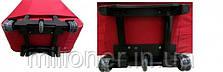 Чемодан сумка 773 (средний) черно-красный, фото 3