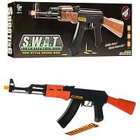 Автомат AK 47-1 муз., свет, кор., 63 см