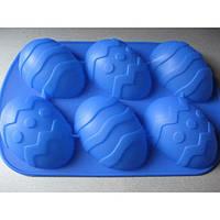 """Силиконовая форма для кекса """"Пасхальные яички"""""""