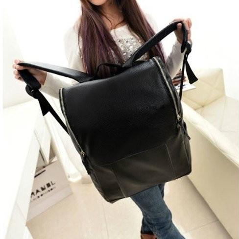 Молодежный рюкзак из кожзама