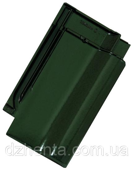 Керамическая черепица TONDACH Сулм болотно-зеленая глазурь F307y