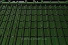 Керамическая черепица TONDACH Сулм болотно-зеленая глазурь F307y, фото 2