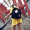 Молодежный рюкзак с рисунком кролика, фото 3