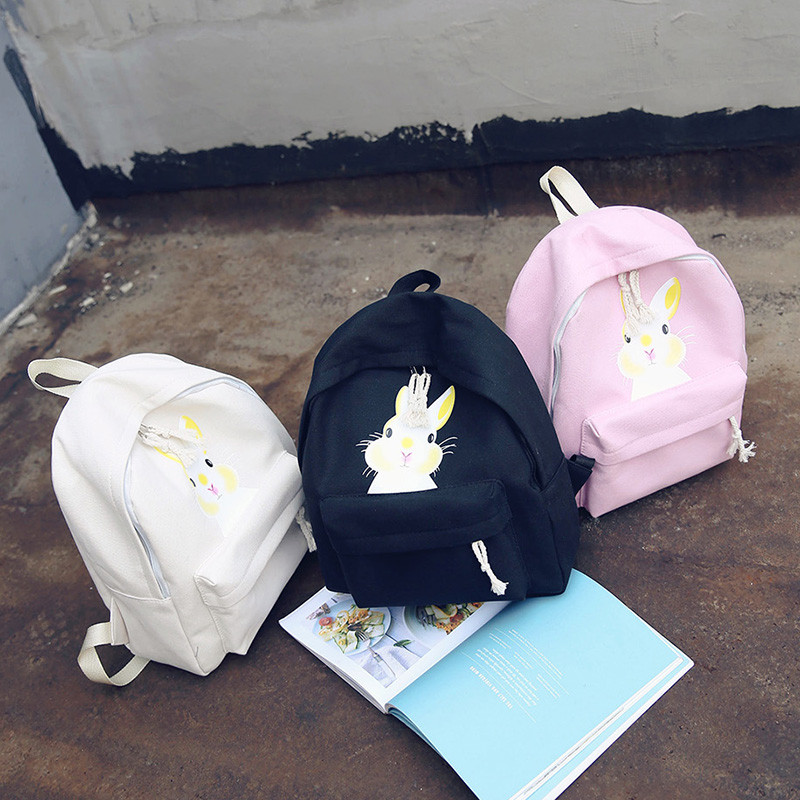 Молодежный рюкзак с рисунком кролика