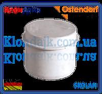 Заглушка бесшумная 100 SKOLAN Ostendorf