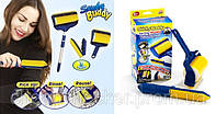 Силиконовый Валик для Уборки Дома и Чистки Одежды Мебели Набор 2 шт Sticky Buddy