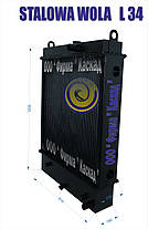 Радиатор погрузчика STALOWA WOLA L-34, фото 2