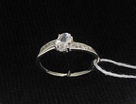 Кольцо серебро 925 проба 17.5 размер №1187