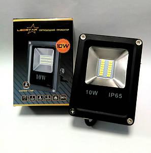 Светодиодный прожектор 10W STANDART серия SMD slim 6500K 650lm
