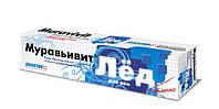 Муравьивит ЛЁД для вен оперативная помощь, крем бальзам для НОГ - экстракт пиявки и хондроитин, 44 мл.