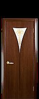 """Двери межкомнатные """"Новый Стиль-Бора"""" рисунок 1 орех 3D"""