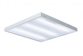 LED светильник 600х600 LEDEX накладной призматичный 36W 6000K (АРМСТРОНГ)