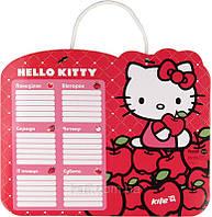 HK14-145K Доска с расписанием уроков + маркер KITE 2014 Hello Kitty 145