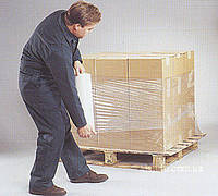 Упаковочная стрейч плёнка 1,5кг  белая прозрачная