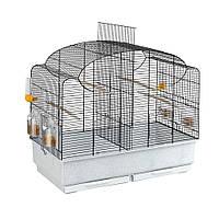 Ferplast (Ферпласт) Canto клетка для канареек и волнистых попугаев черная с разделителем