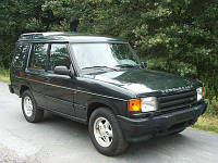Разборка Land Rover Discovery 1