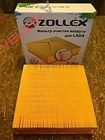 Фильтр воздушный Ваз 2108 -21099, 2110-2115, 2123, Калина, Приора инжектор Zollex