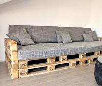 Подушка для мебели из паллет 120х65х5